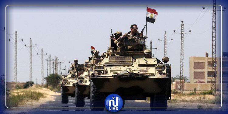 سيناء: مقتل 15 إرهابيا في هجوم على كمين أمني