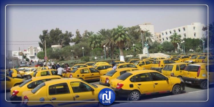 إضراب سوّاق التاكسي الفردي