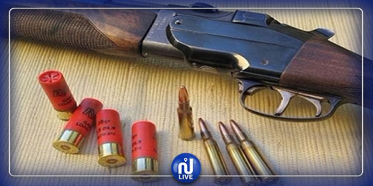 القصرين : حجز بندقية صيد  غير مرخّصة و4 خراطيش