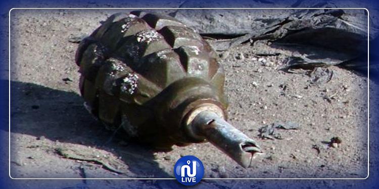 الشبيكة: إصابة شاب في انفجار قنبلة يدوية