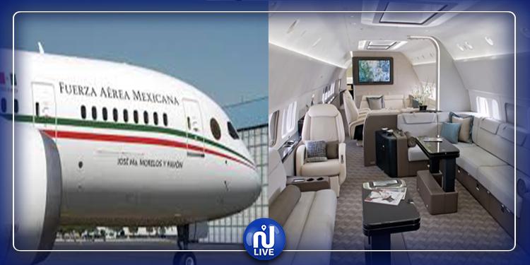 المكسيك تبيع الطائرة الرئاسية لبناء مستشفيات