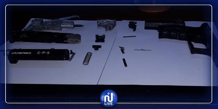 عيار 4.5: حجز مسدس و184 إطلاقة بفضاء تجاري في زغوان
