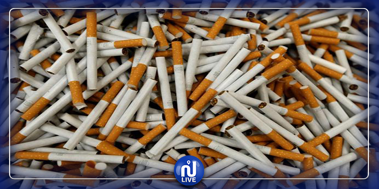 صفاقس: حجز 4000 علبة سجائر مهربة و200 علبة معسل