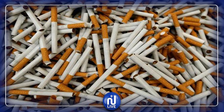 القصرين: حجز 2000 خرطوشة سجائر تباع بطرق غير قانونية