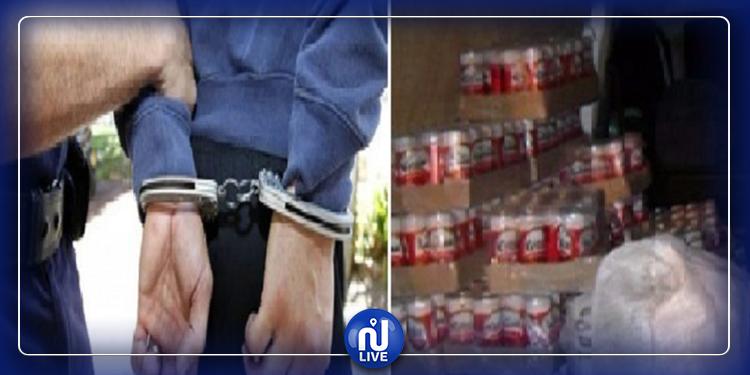 مداهمة أمنية: الاحتفاظ بتلميذ 16 عاما وحجز خمور وجعّة