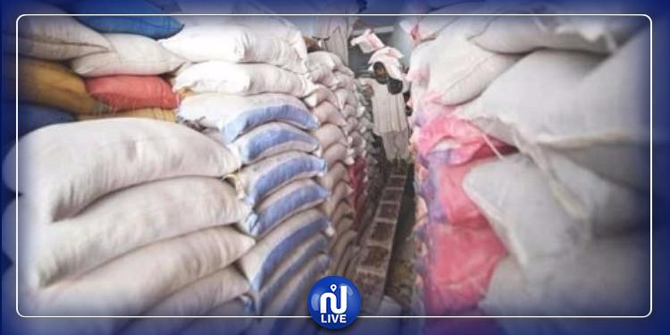مدنين: حجز 11.5 طن من المواد المدعمة (صور)