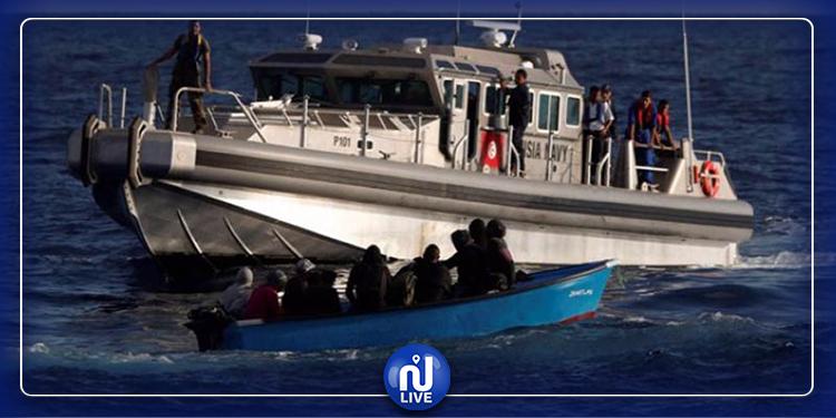 صفاقس : ضبط 87 شخصا حاولوا اجتياز الحدود البحرية خلسة