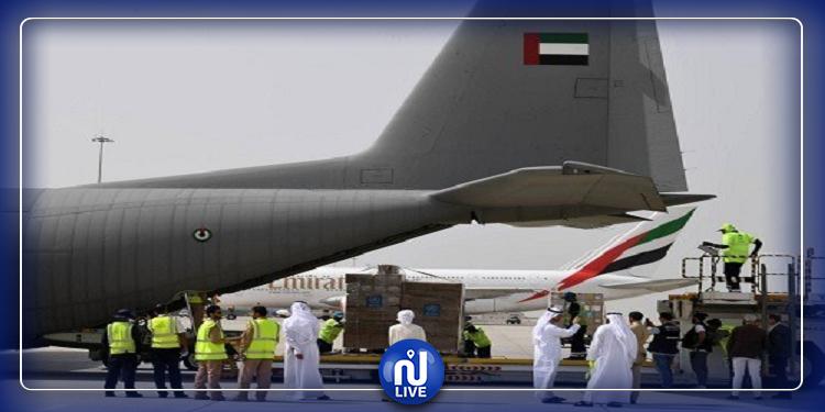 الإمارات ترسل طائرة مساعدات إلى إيطاليا