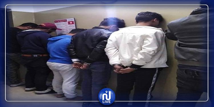 جربة: القبض على 6 أشخاص بتهمة سرقة مقهى (صور)
