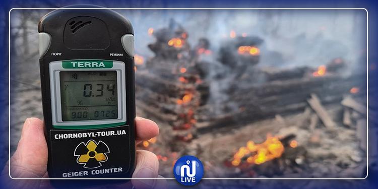 Un incendie augmente le niveau de radioactivité autour de la centrale de Tchernobyl