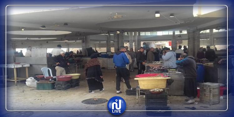 صفاقس:غلق سوق الأسماك بباب الجبلي