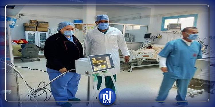 توفير جهاز تنفس اصطناعي لفائدة المستشفى الجهوي بسيدي بوزيد (صور)