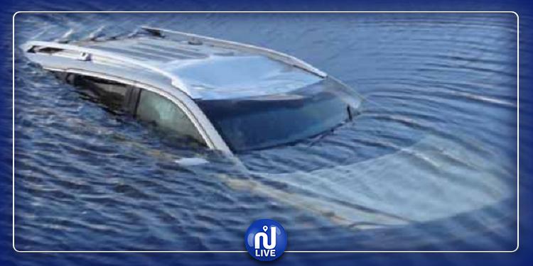 المهدية: وفاة زوجين غرقا داخل سيارة