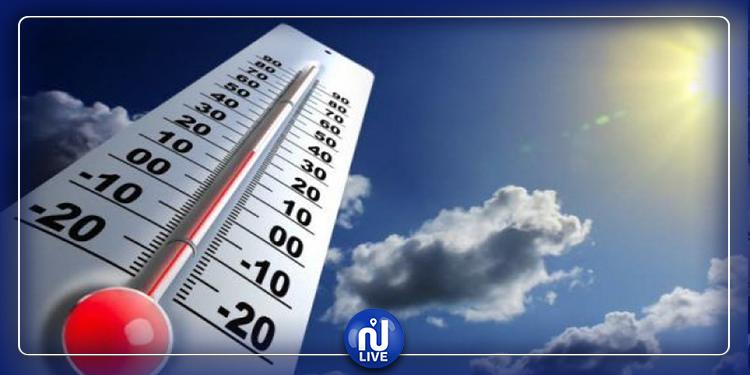 انخفاض في درجات الحرارة لبقية هذا اليوم
