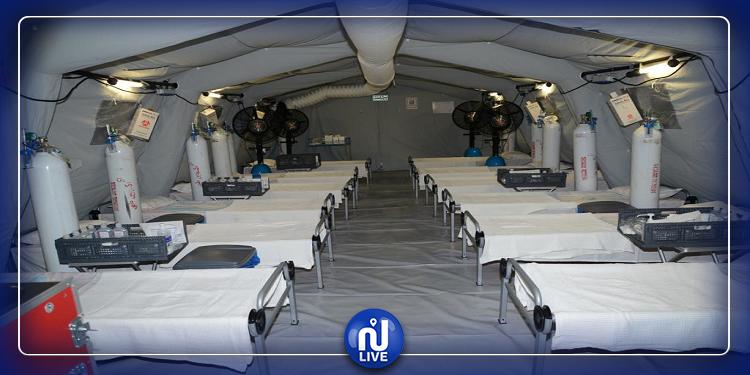 فيروس كورونا: السعودية تشيّد مستشفيين متنقلين (صور)