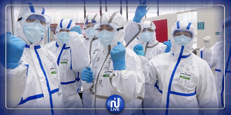 مجهودات الفرق الطبية الصينية في تونس لمكافحة فيروس كورونا (فيديو)