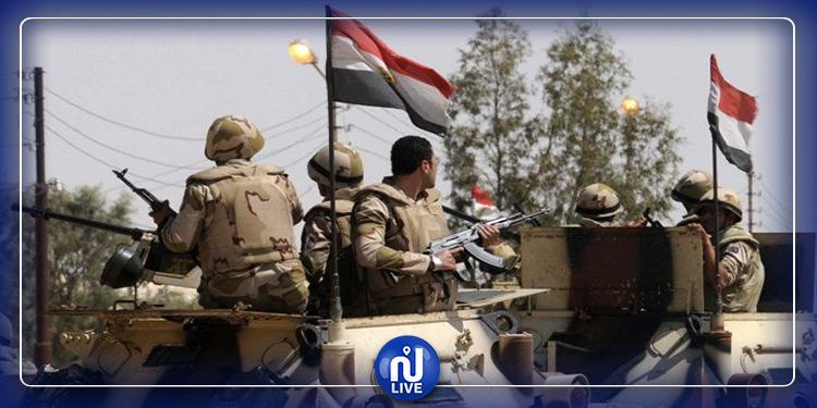 استشهاد 5 جنود مصريين  في سيناء