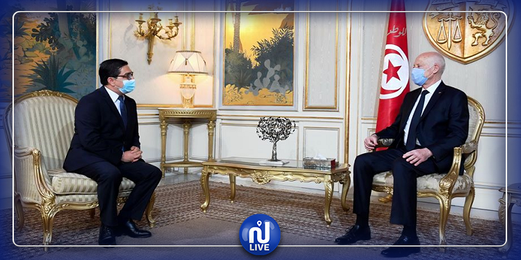 في أوّل زيارة خارجية له: المبعوث الخاص لملك المغرب يلتقي سعيّد