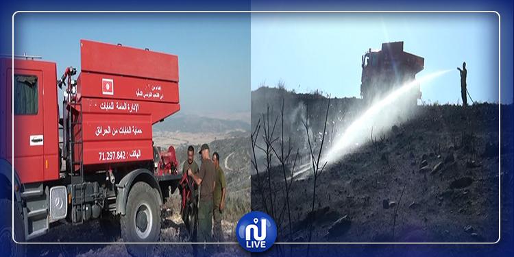 الكاف: تسخير أكثر من 350 عون إطفاء للتصدي الى خطر الحرائق