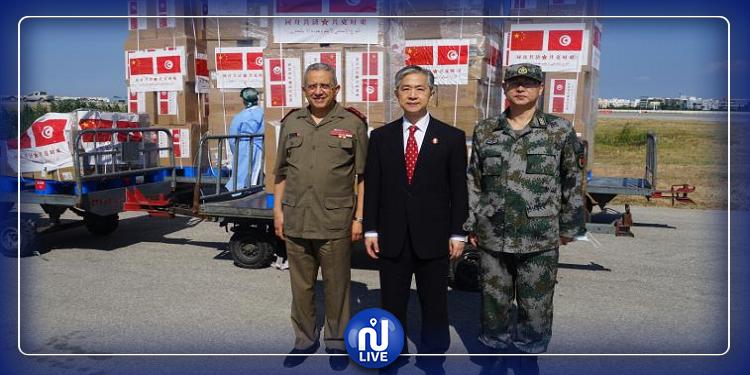 تونس تتسلّم مواد طبية من جمهورية الصين الشعبية (صور)