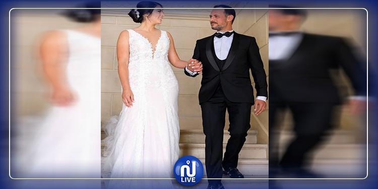 عزّة بسباس تحتفل بزفافها في باريس (صور)