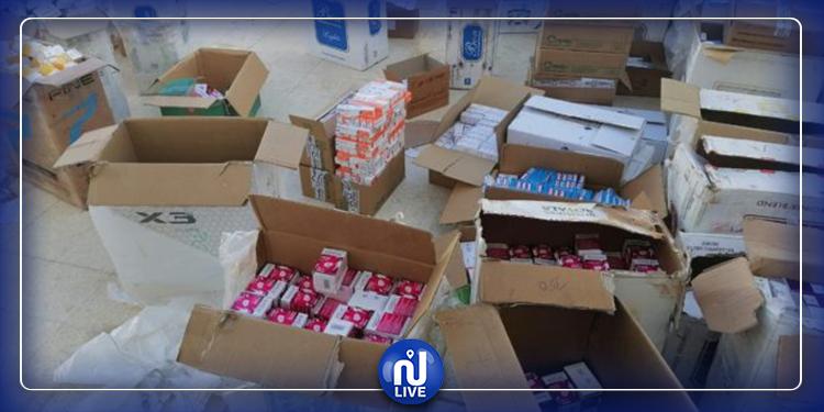 تطاوين: حجز 17 ألف علبة دواء مهرّبة باتجاه الحدود الليبية