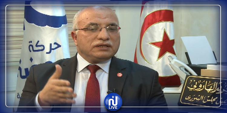 عبد الكريم الهاروني: متمسّكون بتشكيل حكومة تحظى بغطاء سياسي واسع