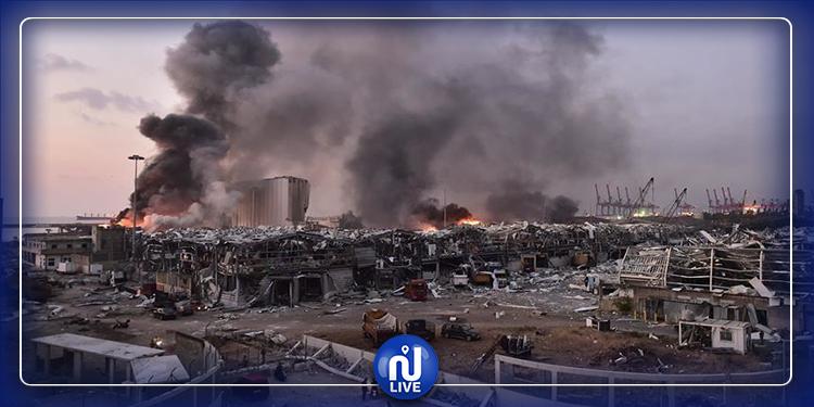 انفجار بيروت: إيقاف 16 شخصا
