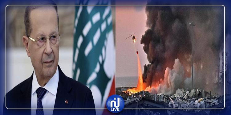 الرئيس اللبناني: التحقيق الدولي في قضية انفجار بيروت تضييع للوقت