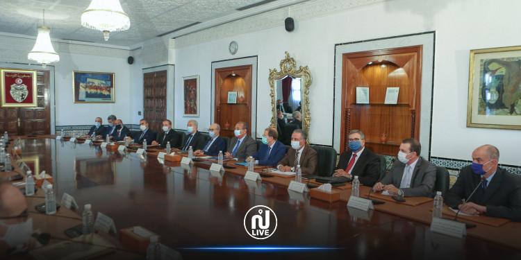 جلسة حوار بين الحكومة والاتحاد التونسي للصناعة والتجارة والصناعات التقليدية