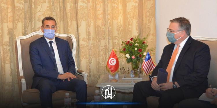 التصدي للارهاب: أهم نقاط لقاء وزير الداخلية والسفير الأمريكي بتونس