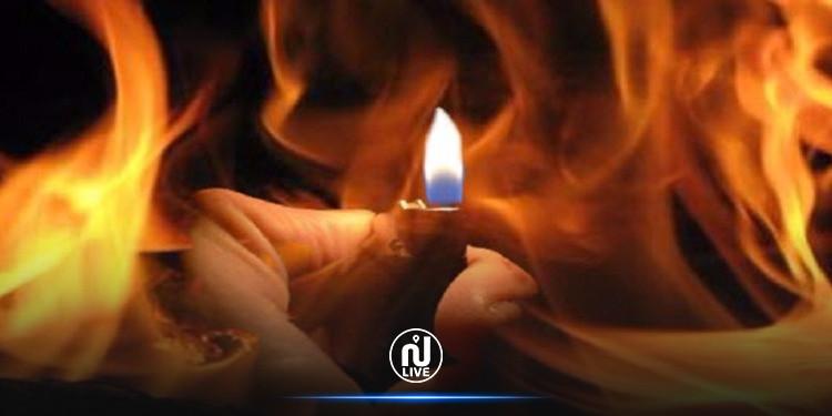 جندوبة: وفاة شاب أضرم النار بجسده
