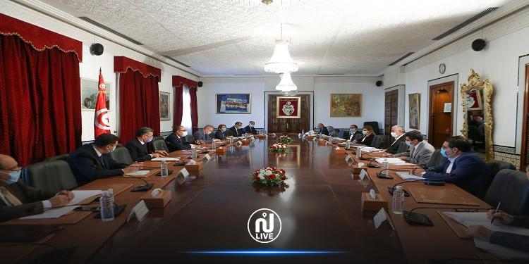 هشام المشيشي يشرف على جلسة حوار مع أعضاء الاتحاد التونسي للفلاحة والصيد البحري