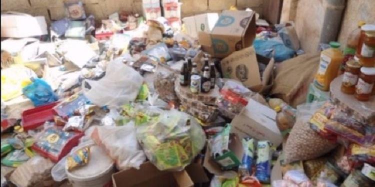 بن عروس: الكشف عن مخزن عشوائي معدّ لتخزين المواد الغذائيّة