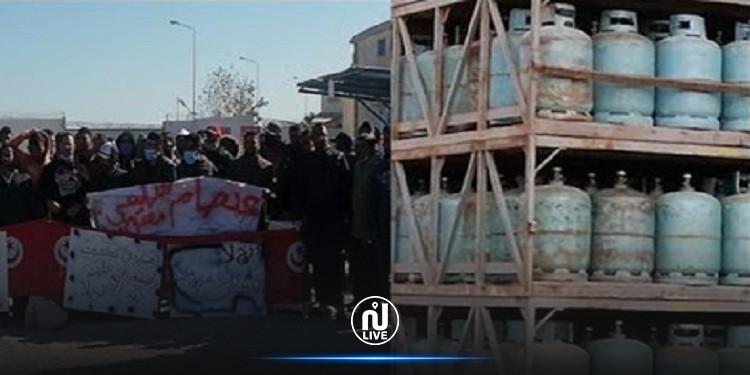 قابس: تنسيقية اعتصام 'الصمود 2 ' تفتح مؤقتا أبواب معامل الغاز