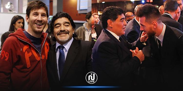 ميسي: مارادونا خالد ولا يموت