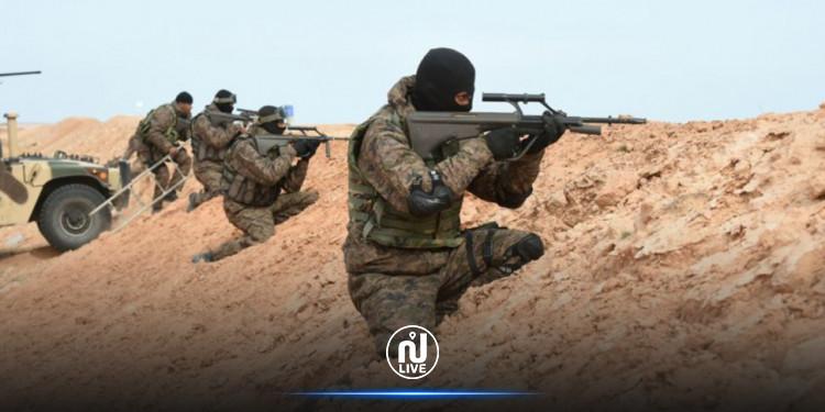 رصد تحركات مشبوهة بالمنطقة العسكرية العازلة برمادة