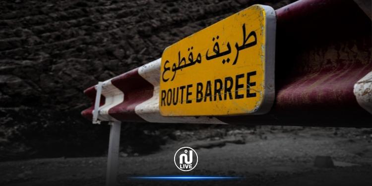 غلق الطريق المحليّة 719 من ولاية سليانة إلى موفى شهر مارس