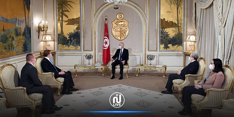 رئيس الجمهورية يتسلم أوراق اعتماد 3 سفراء جدد