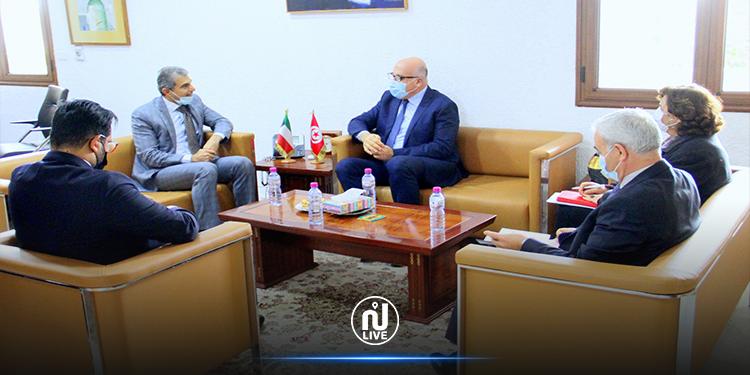 جلسة عمل حول التعاون التونسي الكويتي في المجال الصحي