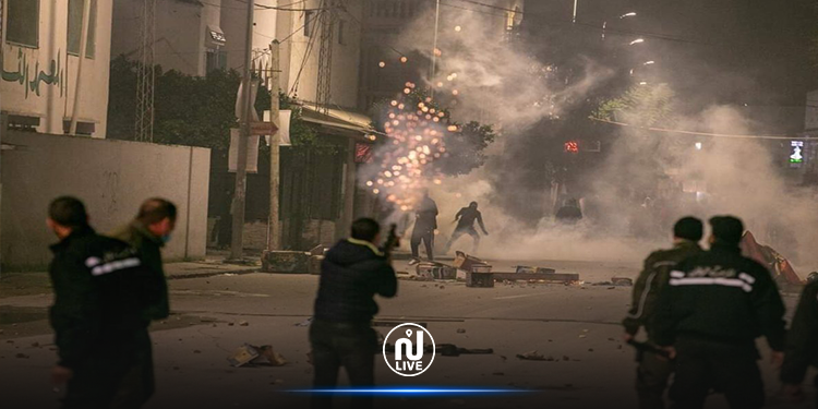 المنستير: إصابة عوني أمن خلال أعمال شغب