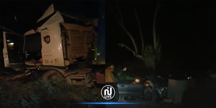 رادس: حادث مرور مروّع (فيديو)