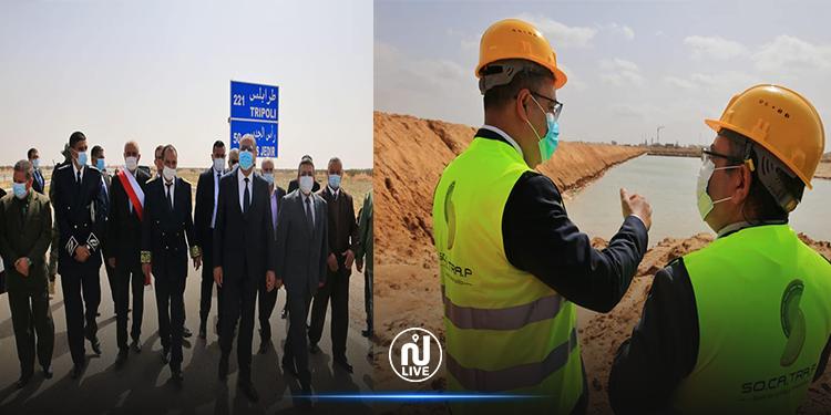 المشيشي يدشّن عدد من المشاريع في مدينتي بن قردان وجرجيس