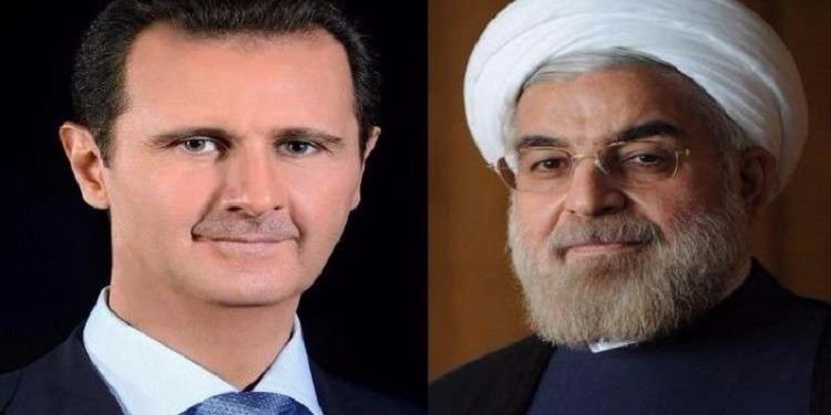 الأسد يدعو طهران إلى المشاركة في إعادة إعمار سوريا