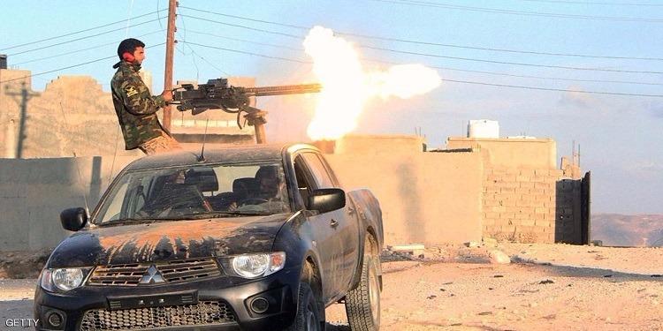 ليبيا - عاجل : اشتباكات مسلحة بمحيط سجن الهضبة
