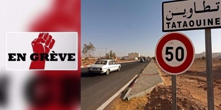 تطاوين : 50 عامل بحقل نوارة يدخلون في إضراب مفتوح عن العمل
