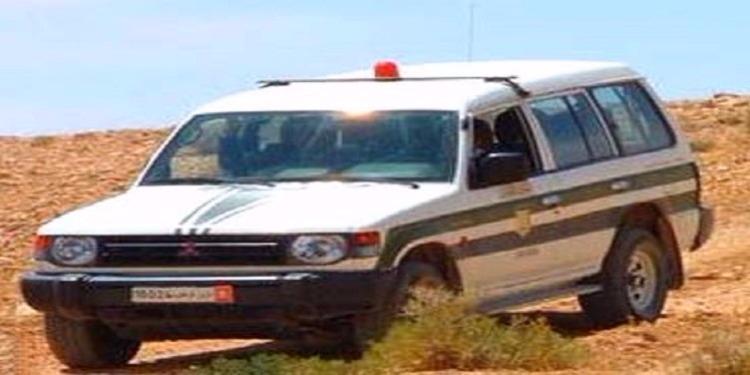 Kébili : Quatre agents de la Garde nationale blessés dans une course- poursuite
