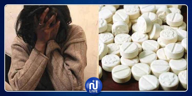 بنزرت: حجز أقراص مخدرة بحوزة شابين وفتاة اثر مداهمة أمنية