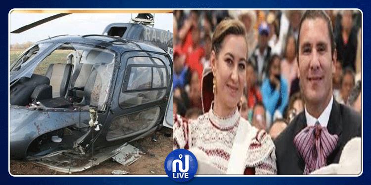 مقتل عضو مجلس الشيوخ المكسيكي وزوجته في تحطم طائرة