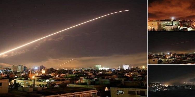 هذه الأماكن التي تم استهدافها في سوريا